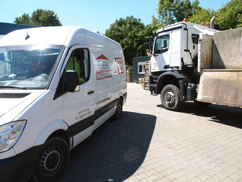 Anlieferung Kleintransporter
